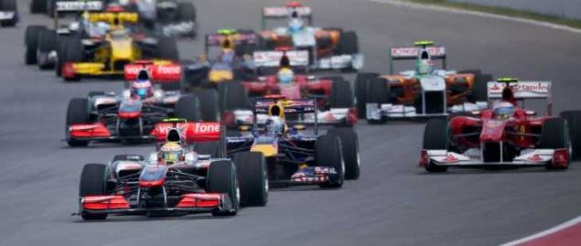 Formula One Canadian Grand Prix start in 2010